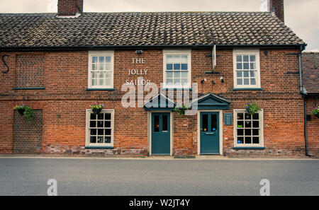 Jolly Sailor public house, Orford , Suffolk - Stock Photo