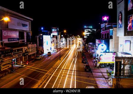 Thiruvananthapuram / Trivandrum - Long Exposure - Stock Photo