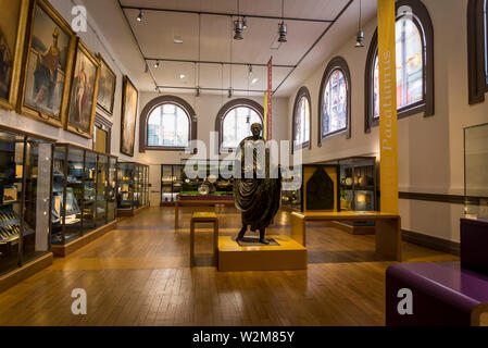Interior of the Museum of Fine Arts and Archeology, Vienne, France - Stock Photo
