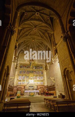 Real Colegiata de San Isidoro de Leon, Castilla y Leon, Spain - Stock Photo