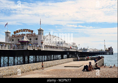 Brighton Palace Pier in the UK