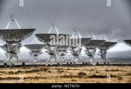VLR Radio Telescope - Stock Photo