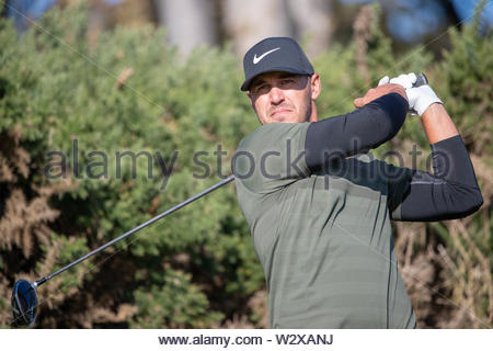 File photo dated 04-10-2018 of USA's Brooks Koepka. - Stock Photo