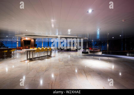Portugal, Madeira Island, Funchal, Pestana Casino Park Hotel designed by Oscar Niemeyer - Stock Photo