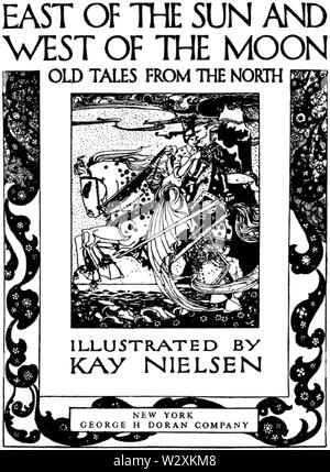 Kay Nielsen - East of the sun and west of the moon - Tpage - Stock Photo