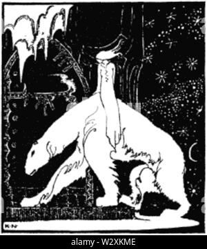 Kay Nielsen - East of the sun and west of the moon - EOTSWOTM - Stock Photo