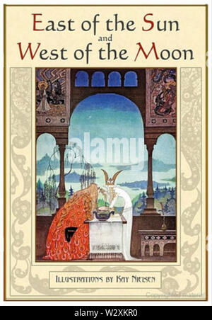 Kay Nielsen - East of the sun west of the moon - cover - Stock Photo