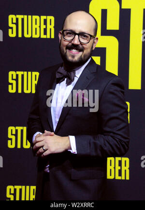 Los Angeles, California, USA 10th July 2019 Composer Joseph Trapanese attends 20th Century Fox's 'Stuber' Premiere on July 10, 2019 at Regal Cinemas L.A. Live in Los Angeles, California, USA. Photo by Barry King/Alamy Live News - Stock Photo