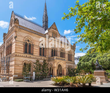 The Mitchell Building at the University of Adelaide, North Terrace, Adelaide, South Australia, Australia - Stock Photo