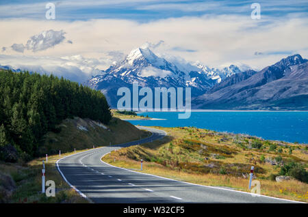 Mt. Aoraki (Mt. Cook), New Zealand