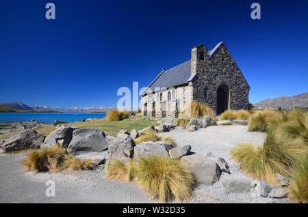 Good Shepherd's Chapel, Lake Tekapo, New Zealand