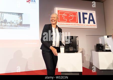 IFA Media Briefings 10-11 July 2019, Berlin Germany - Stock Photo