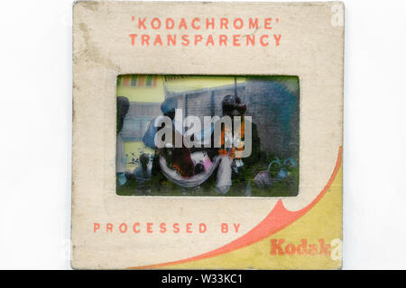 06 May 2009 History-Evolution of Photography The birth of clasic color film kodachrom-1935-USA-studio shot Kalyan near Mumbai Maharashtra India - Stock Photo