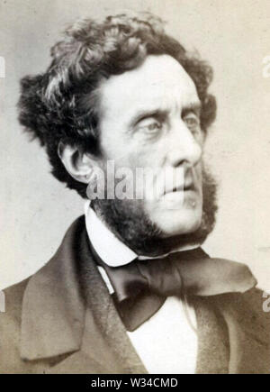 ANTHONY ASHLEY-COOPER,7th Earl of Shaftesbury (1801-1885) British politician, social reformer and philanthropist - Stock Photo
