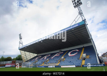 Starks Park, Kirkcaldy, UK. 13th July, 2019. Scottish League Cup football, Raith Rovers versus Dundee; Starks Park, home of Raith Rovers Credit: Action Plus Sports/Alamy Live News - Stock Photo