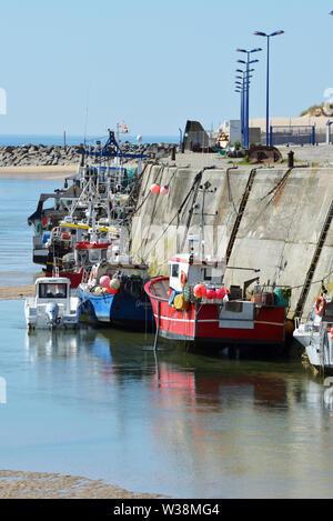 Walk in Normandy, Le Cotentin, France - Stock Photo