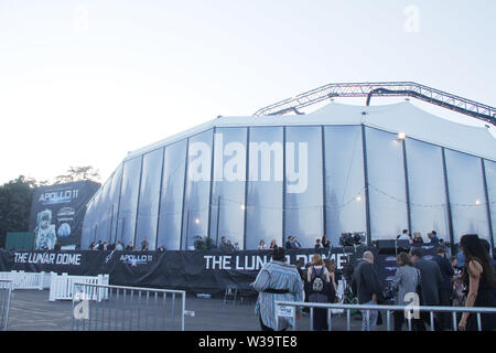 Los Angeles, USA. 10th July, 2019. Atmosphere 07/10/2019 'Apollo 11: The Immersive Live Show' Opening Night held at the Lunar Dome in Pasadena, CA Credit: Cronos/Alamy Live News - Stock Photo
