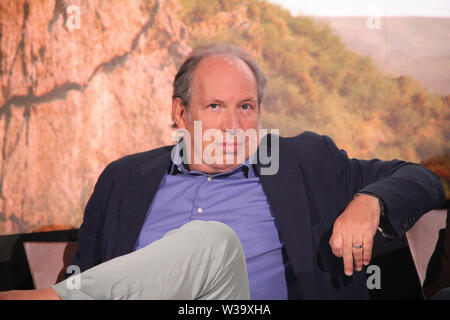 Los Angeles, USA. 10th July, 2019. Hans Zimmer 07/10/2019 'The Lion King' Press Conference held at the Montage Beverly Hills Luxury Hotel in Beverly Hills, CA Credit: Cronos/Alamy Live News - Stock Photo
