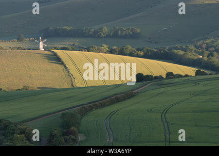 Ashdown Windmill - Stock Photo