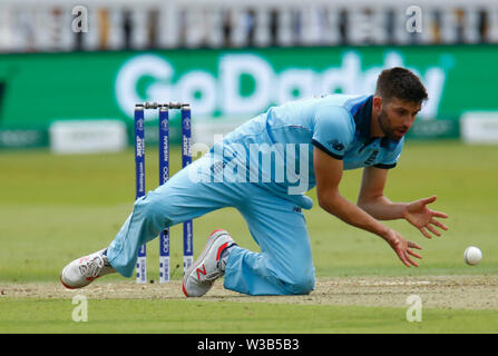 London, UK. 14th July, 2019. LONDON, ENGLAND. JULY 14: during ICC Cricket World Cup Final between England and New Zealand at the Lord's Cricket Ground on July 14, 2019 in London, England. Credit: Action Foto Sport/Alamy Live News - Stock Photo