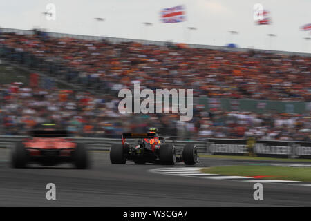 Silverstone, UK. 14th July, 2019.  Sport Grand Prix Formula One England 2019 In the pic: race, Pierre Gasly (FRA) Redbull Racing RB15 Credit: LaPresse/Alamy Live News - Stock Photo