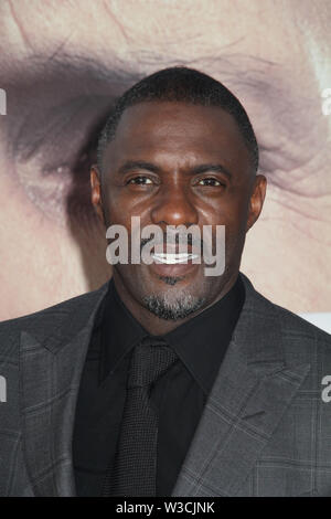 Idris Elba  07/13/2019 The world premiere of 'Fast & Furious Presents: Hobbs & Shaw' held at the Dolby Theatre in Los Angeles, CA Photo by I. Hasegawa / HNW / PictureLux - Stock Photo