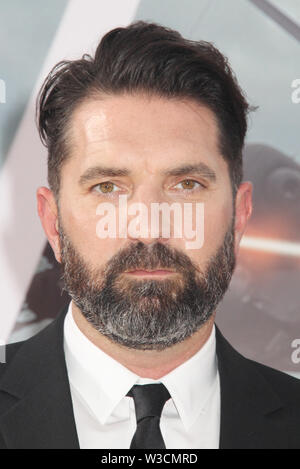 Los Angeles, USA. 13th July, 2019. Drew Pearce 07/13/2019 The world premiere of 'Fast & Furious Presents: Hobbs & Shaw' held at the Dolby Theatre in Los Angeles, CA Credit: Cronos/Alamy Live News - Stock Photo