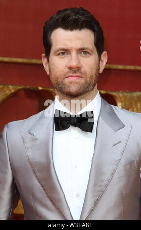 Billy Eichner attends the European Premiere of Disney's The Lion King at the Odeon Luxe cinema, Leicester Square in London. - Stock Photo