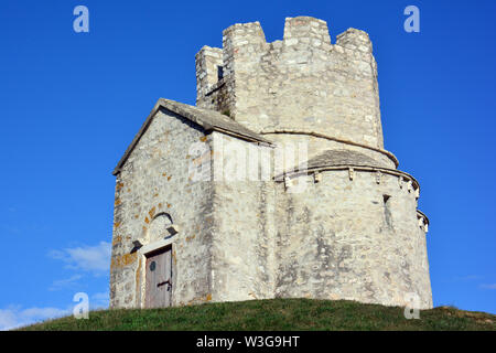 Church of Saint Nicholas, Nin, Croatia, Europe - Stock Photo