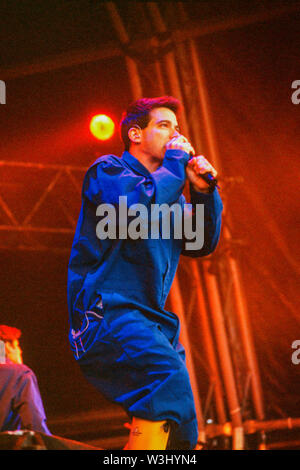 The Beastie Boys performing at T in the Park Festival 12th July 1998,Balado, Kinross, Scotland. - Stock Photo