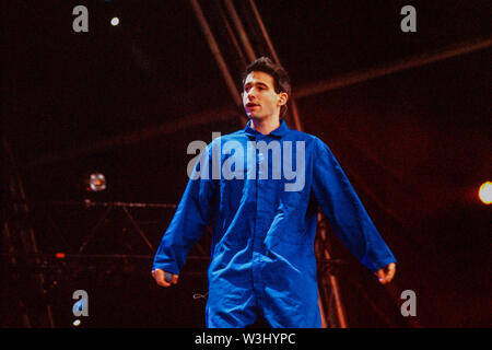 Ad-Rock in The Beastie Boys performing at T in the Park Festival 12th July 1998,Balado, Kinross, Scotland. - Stock Photo
