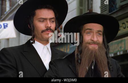 LES AVENTURES DE RABBI JACOB 1973 de Gerard Oury Claude Giraud Louis De Funes. rabbin; rabbi Prod DB © Gaumont - Films Pomereu - Stock Photo