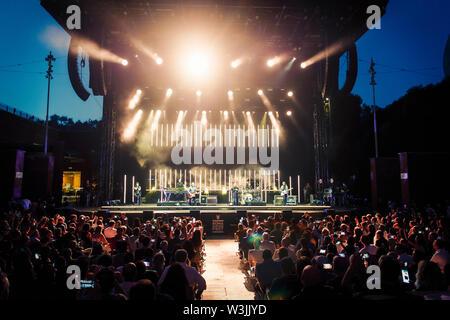 © Stefano D'Offizi - Tears for Fears @Roma Summer Fest // Auditorium parco della Musica - 2019 - www.rockerilla.com - Stock Photo