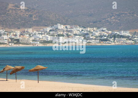 Haouaria Beach in Tunisia North Africa - Stock Photo