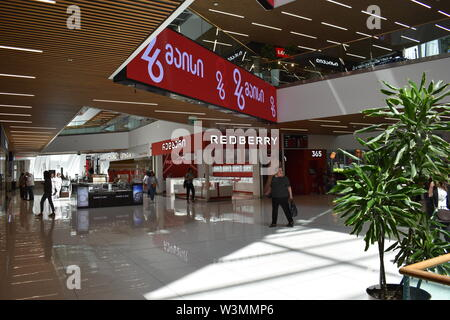Inside Galleria, Tbilisi, Georgia, near Liberty Square, on Rustaveli Avenue - Stock Photo