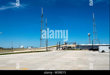 Kennedy Space Center Launch Complex 39B , currently in use by SpaceX