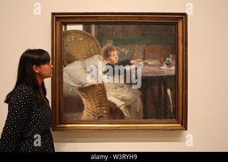 Helene Schjerfbeck 20 July - 27 October 2019 The Gabrielle Jungels - Winkler Galleries Royal Arts Academy , London UK - Stock Photo