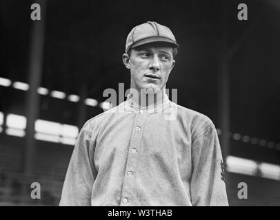 Grover Loudermilk, Major League Baseball Player, Saint Louis Cardinals, Half-Length Portrait, Bain News Service, 1911 - Stock Photo