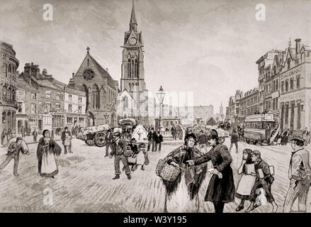 St Paul Church of England, New Cross, Manchester, England, UK, 19th century - Stock Photo