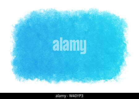 pastel color summer blue water abstract or natural watercolor hand paint background, vector illustration - Stock Photo