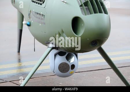 Camcopter, S-100, military drone - Stock Photo