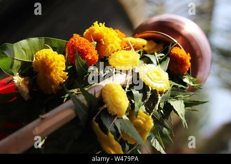 Indian Traditional Festival Gudi Padwa - Stock Photo