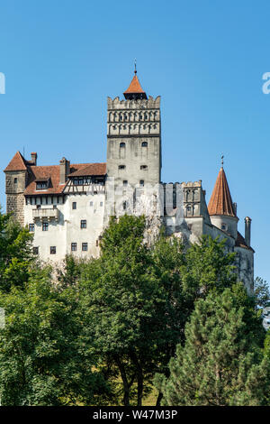 Bran Castle, Bran, Romania - Stock Photo