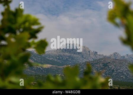 the mountain tulove grede in croatia europe, panorama - Stock Photo