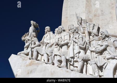 padrao dos descobrimentos;monument of discoveries;belem;lisbon;portugal - Stock Photo