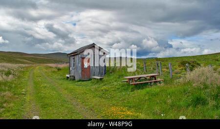 Dava Way Trail Moray Scotland In Summer Abandoned Brick