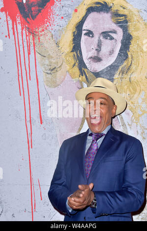 San Diego, USA. 19th July, 2019. Giancarlo Esposito at the world premiere of the Amazon Prime Video TV series 'The Boys' at the San Diego Comic-Con International 2019 in the Amazon Prime Video Experience. San Diego, 19.07.2019 | usage worldwide Credit: dpa/Alamy Live News - Stock Photo