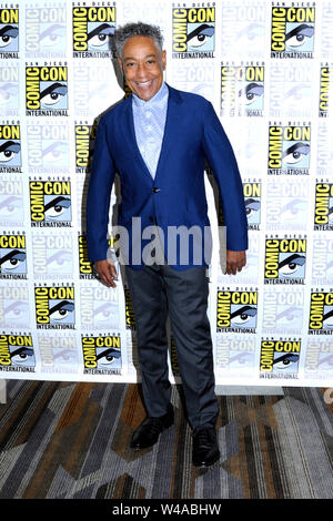 Giancarlo Esposito at the Photocall for the Shudder TV series 'Creepshow' at the San Diego Comic-Con International 2019 at the Hilton Bayfront Hotel. San Diego, 19.07.2019 | usage worldwide - Stock Photo