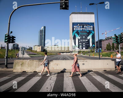 Milano, Italia. 21st July, 2019. Foto Credit: LaPresse/Alamy Live News - Stock Photo