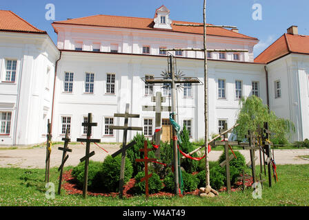 Archimandrites' Palace of Renaissance Suprasl Orthodox Monastery of the Annunciation founded in XV to XVI century in Suprasl, Poland. July 6th 2008 © - Stock Photo